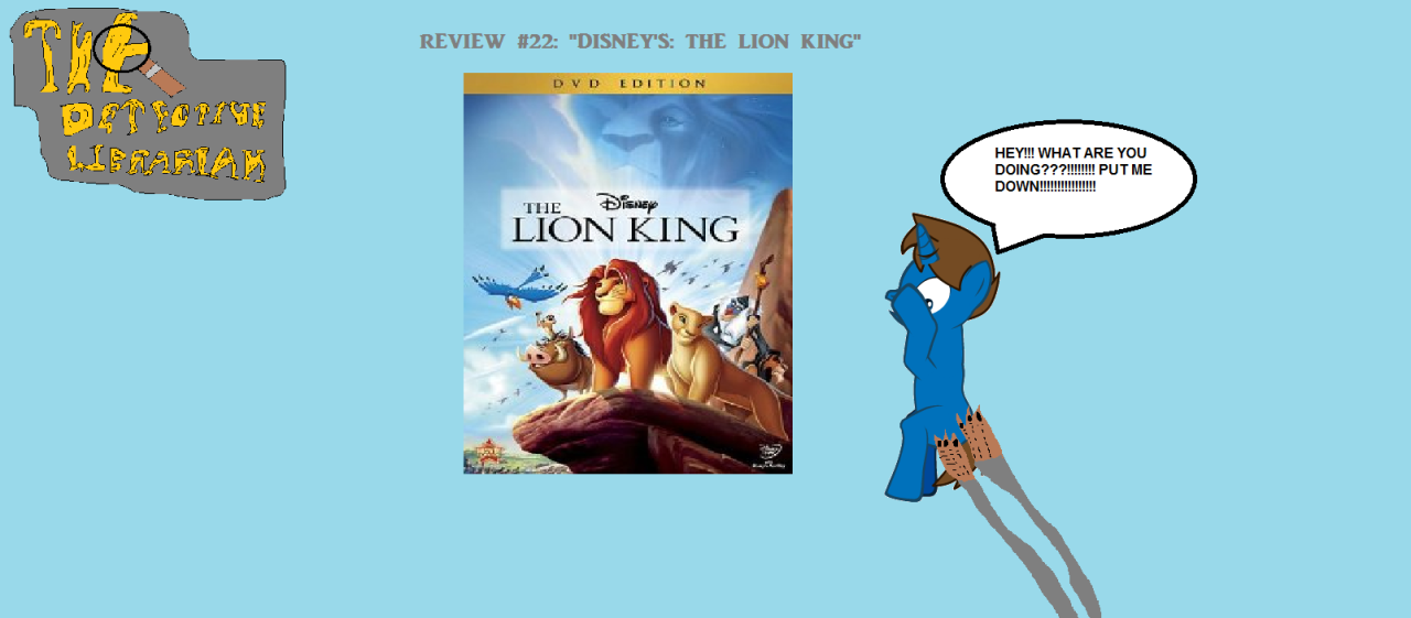 disneys the lion king essay More disney essay topics by the end of this analysis sundiata will be revealed to be the basis of disney's the lion king, evidently conveying the unique characteristics and customs of the ancient mali civilization and, with the modifications of disney, modestly raising questions about race and african stereotypes.