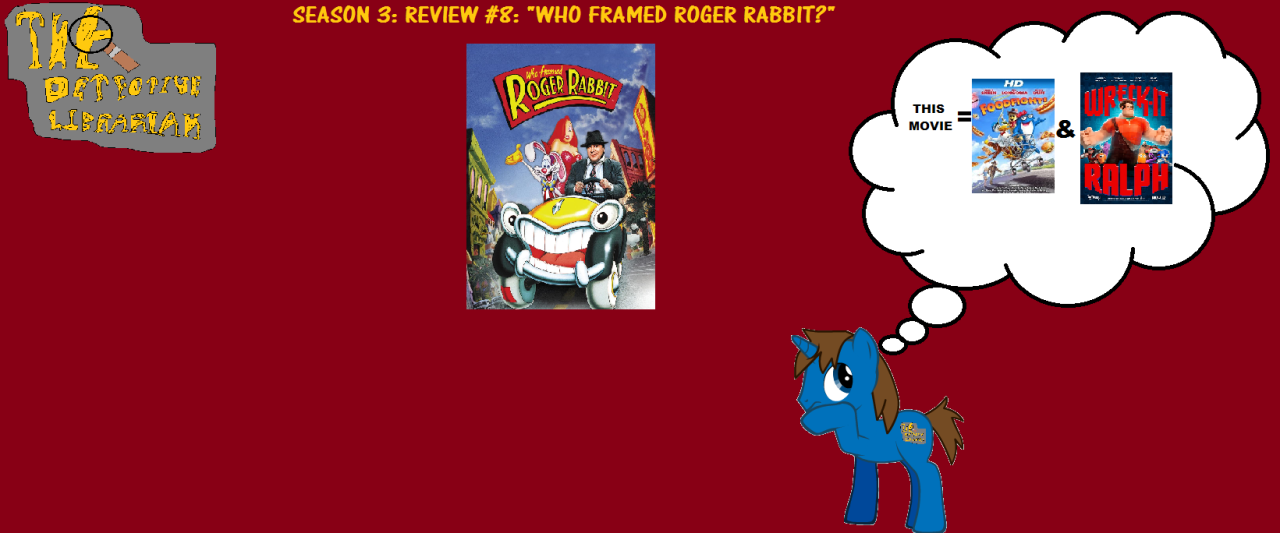 Who Framed Roger Rabbit? – The Detective Librarian