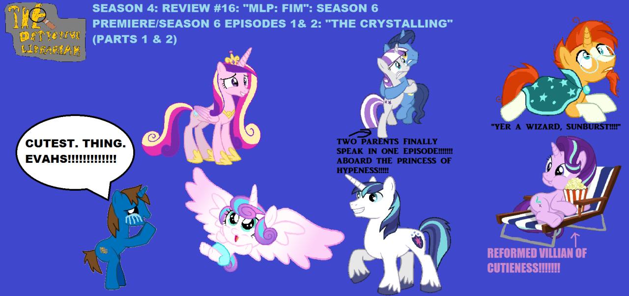 season 4 review 16 mlp fim season 6 premiere season 6